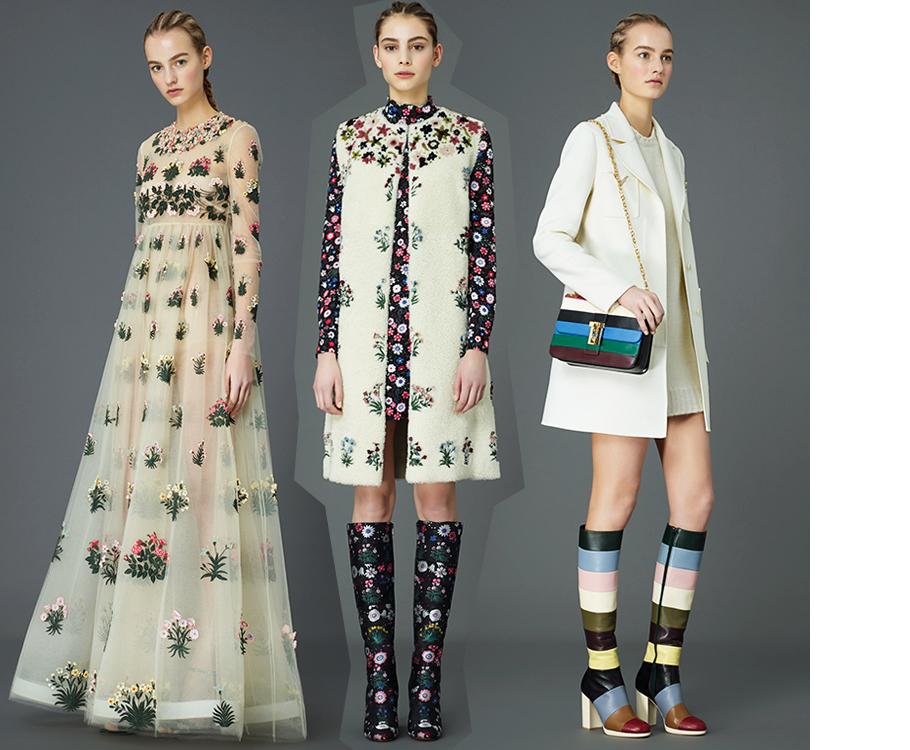 1d6dde4c048c81d Style Notes: цветы, сердца и звезды в коллекции Valentino Pre Fall ...