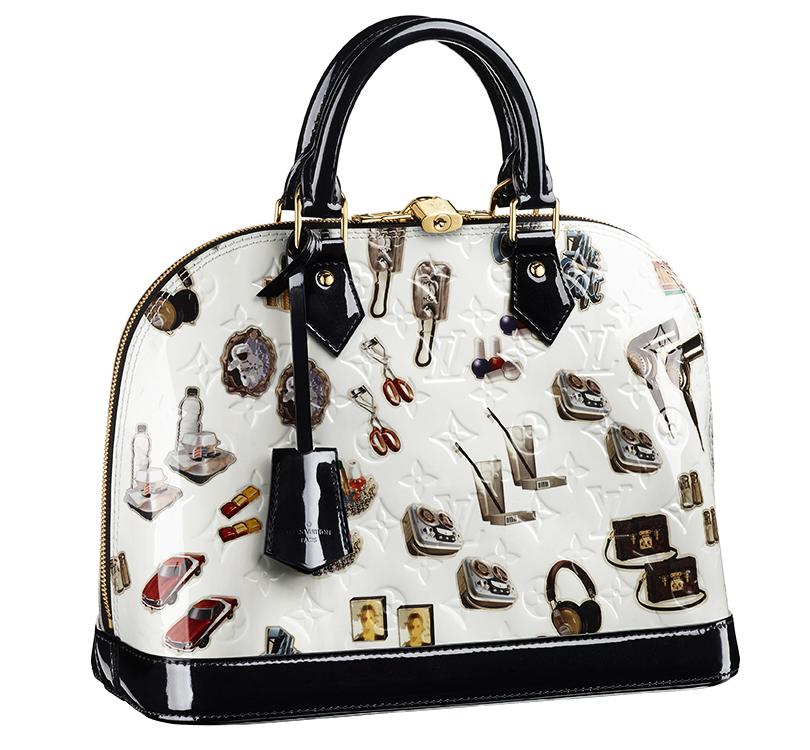 Style Notes  сумки Louis Vuitton с принтами pop-art Stickers   Posta ... 4663bd6c527