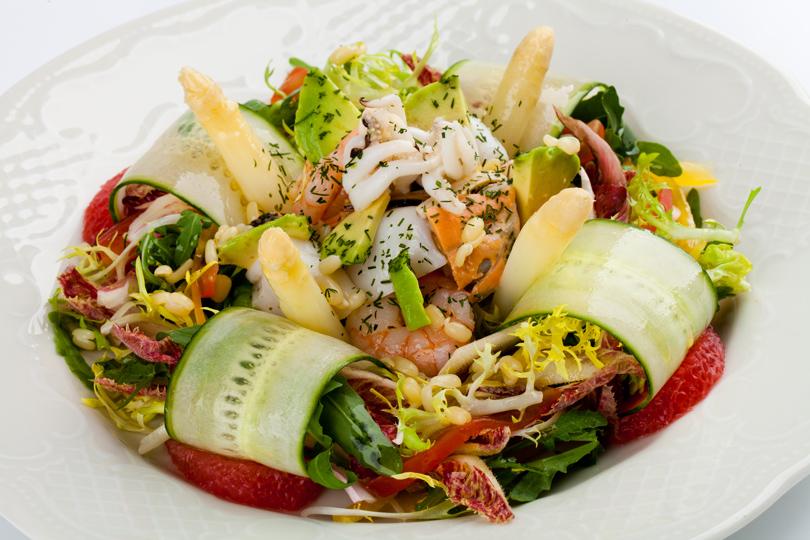 Блюда салатов фото