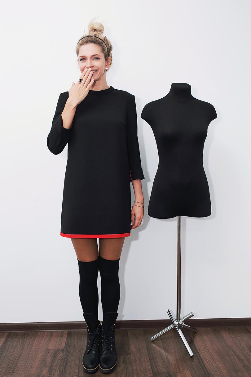 Черные кружевное платье веры брежневой