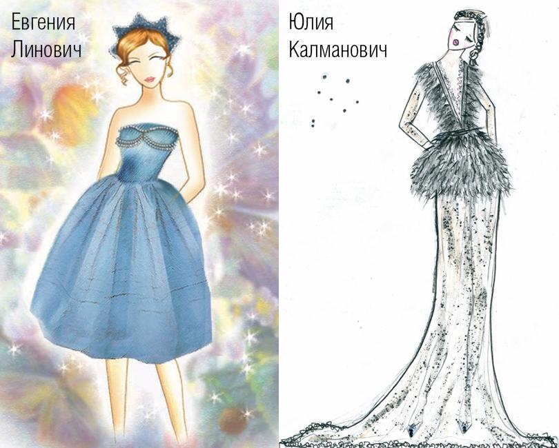 платья по цветотипу весна