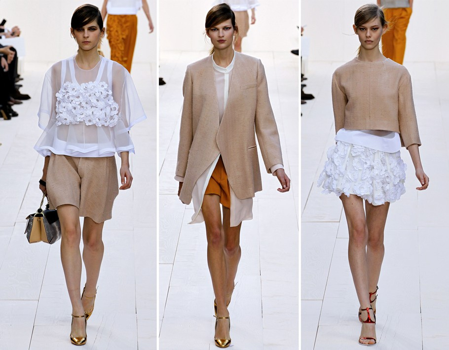 Paris Fashion Week:  Показы Chloe и Giambattista Valli. Cезо...