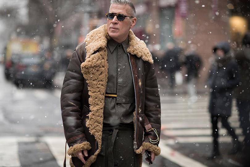 a3780cb6102a Men in Style  уличный стиль на Неделе мужской моды в Нью-Йорке ...