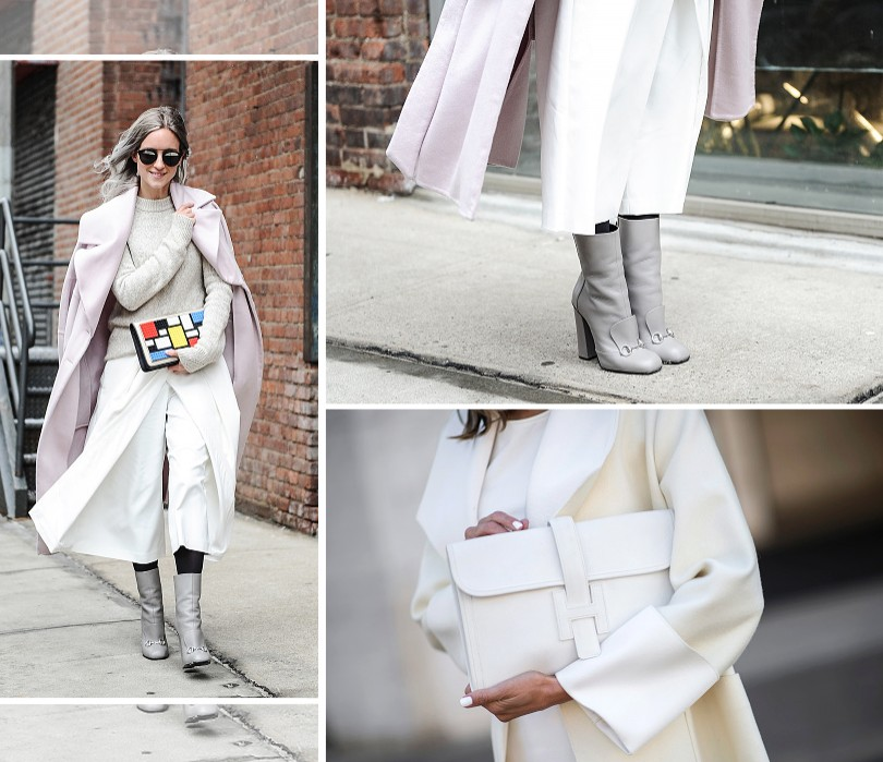 Style Notes: street style с Недели pret-a-porter в Нью-Йорке
