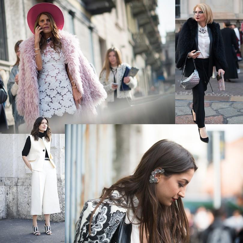 0b3fb800c06 Street Style  лучшие образы гостей миланской Недели моды сезона ...
