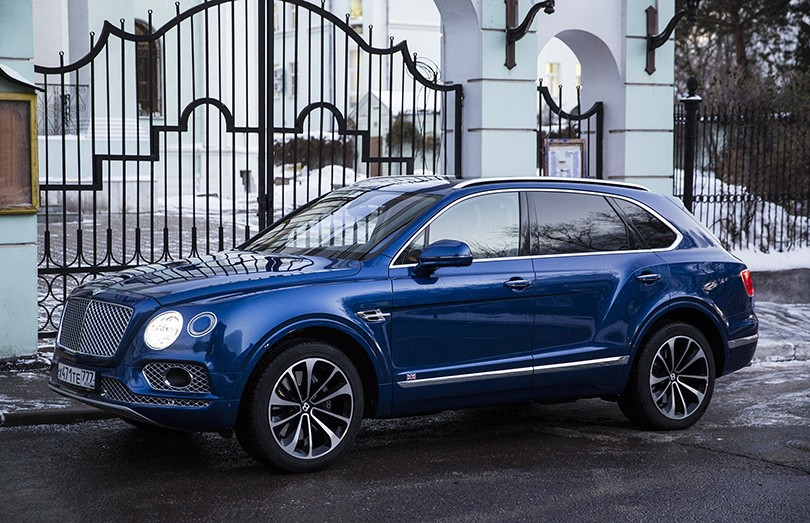 Авто с Яном Коомансом. Тест-драйв Bentley Bentayga: слишком ...
