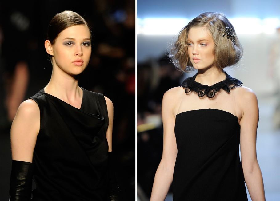Нью-йоркская неделя моды: новый smokey-eyes и прически в стиле принцессы Леи