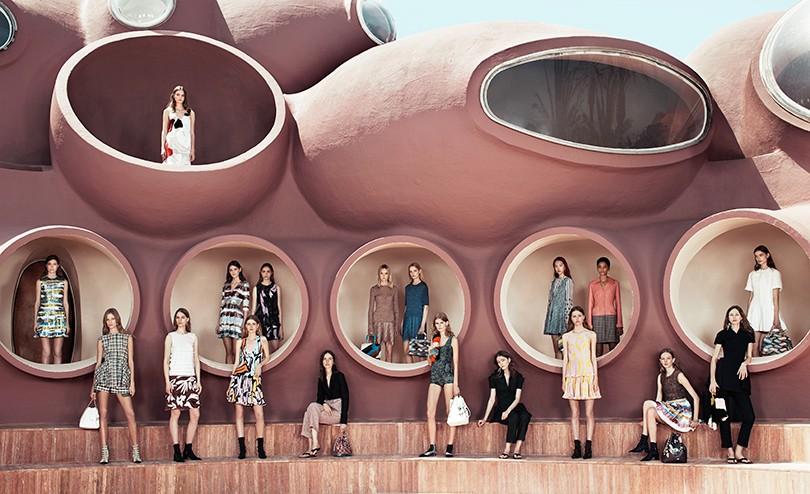 Style Notes  показ круизной коллекции Christian Dior в Каннах ... 52ee37f5347