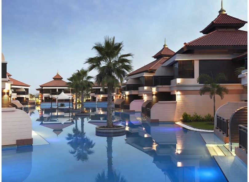 Travel news. Открытие курорта Anantara Dubai The Palm Resort...