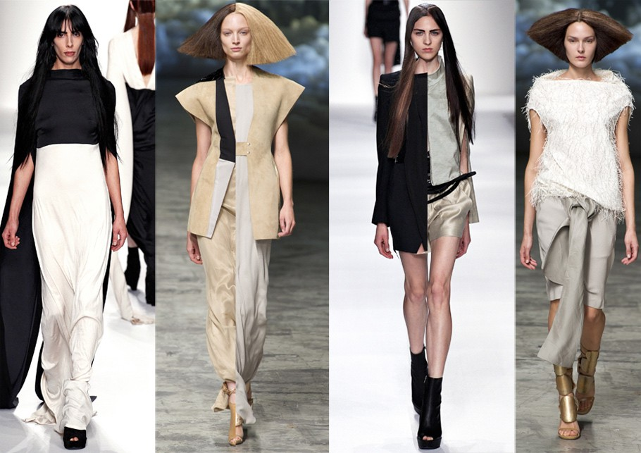 Paris Fashion Week: Показы Ann Demeulemeester и Rick Owens. ...