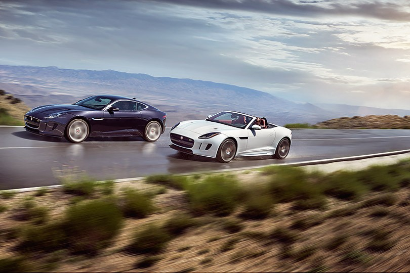 Jaguar F-Type: Coupé или Convertible
