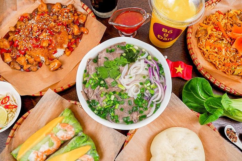 Адрес дня: кафе вьетнамской кухни Bо g Dan