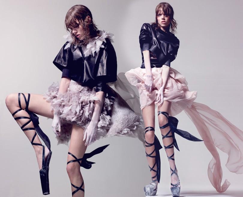 Style Notes  балет in fashion. Связь искусства танца и мира моды ... fd2d51546e4