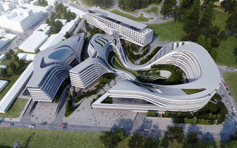 Дизайн проект зданий