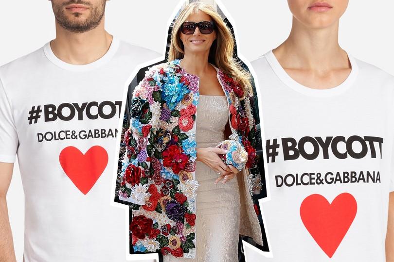 0b170a384172 Бойкот Dolce   Gabbana  как культовая итальянская марка реагирует на ...