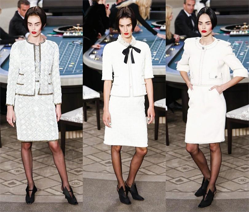 41c523ce769 Style Notes  Карл Лагерфельд представил осеннюю коллекцию Chanel ...