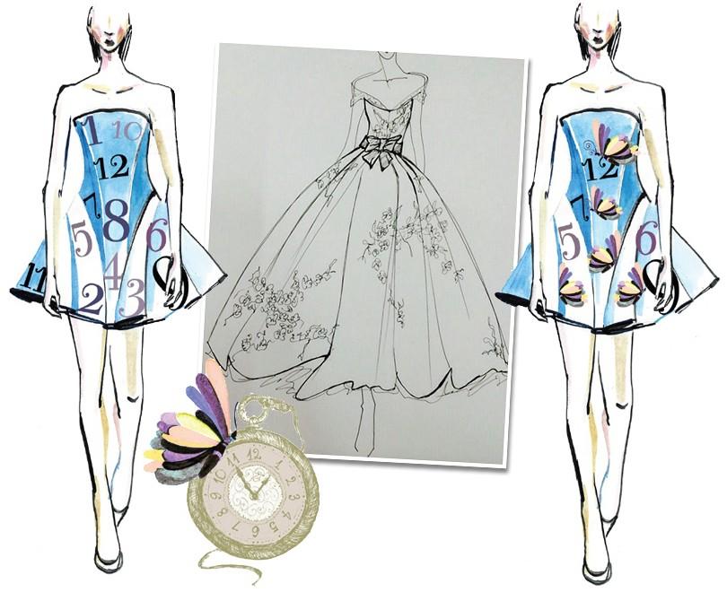 Коллекция платьев цум