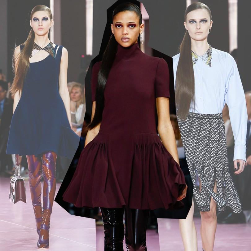 6b56812c0e90 Style Notes  Раф Симонс представил осеннюю коллекцию Christian Dior ...