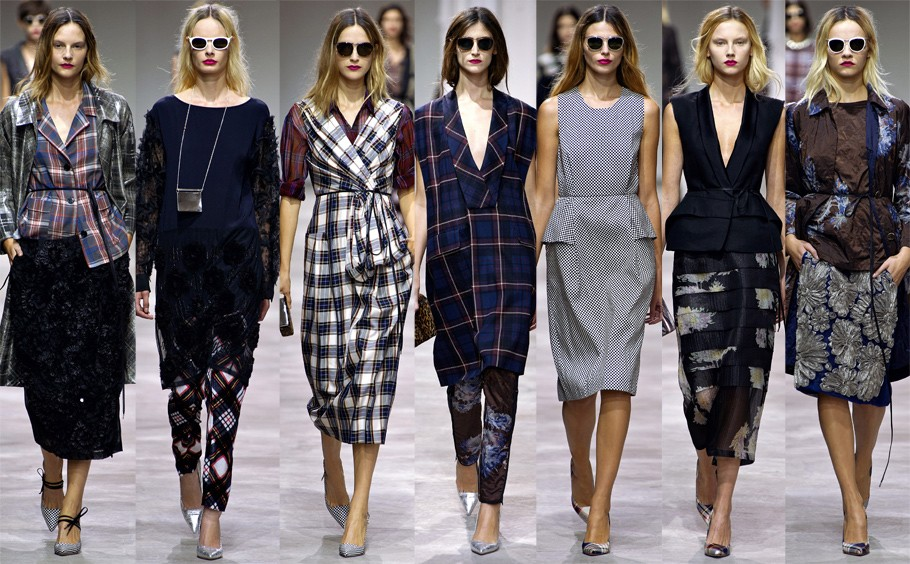 Paris Fashion Week: Dries Van Noten. Сезон Весна-Лето 2013