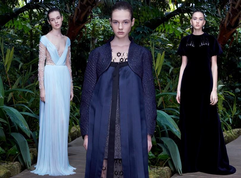 8c5d1c84becd Style Notes  сотворение мира в новой коллекции кутюрных платьев от ...