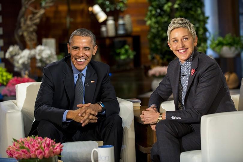 Women in Power: Эллен Дедженерес получила от Барака Обамы медаль Свободы