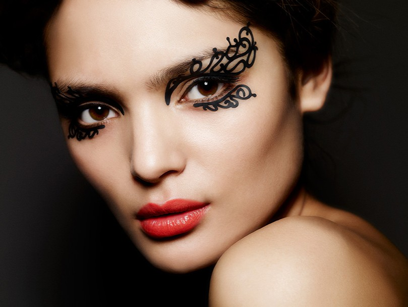 New Year Ideas. Кружево для лица Face Lace by Phillis Cohen