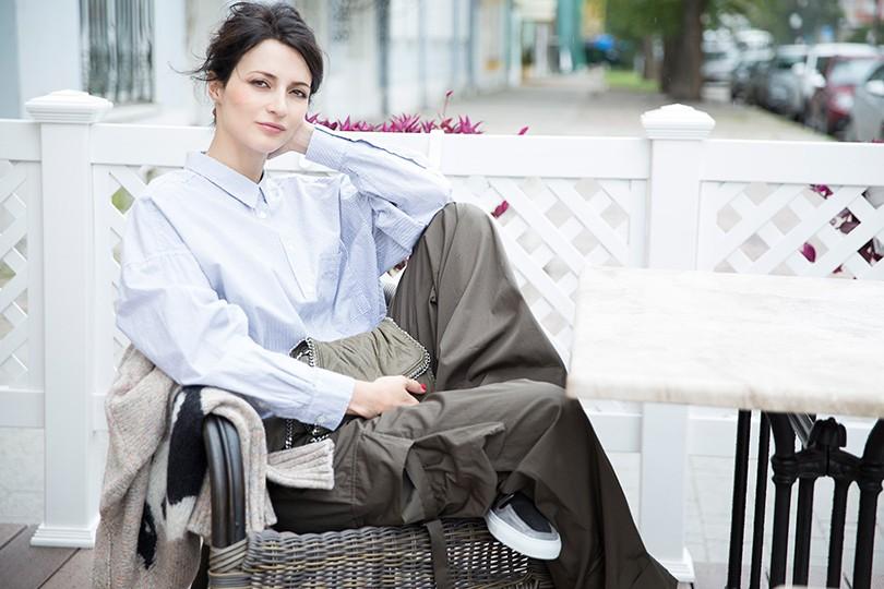 63b074d9eb0 Style Notes с Мариной Изиловой  как носить вещи oversize    Posta ...
