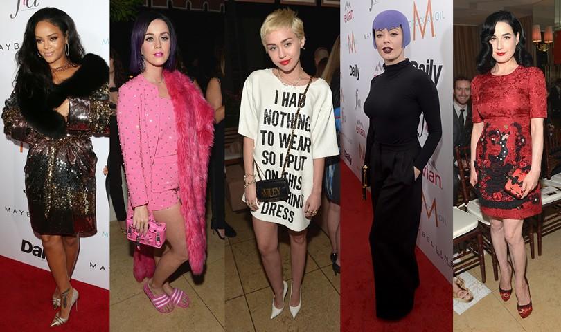 Style Notes  самые экстравагантные наряды звезд на Fashion Los ... 98010914386