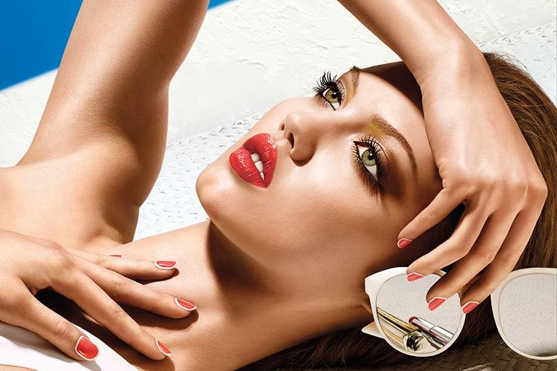 виджет ленты коллекция макияжа диор лето 2017 только после