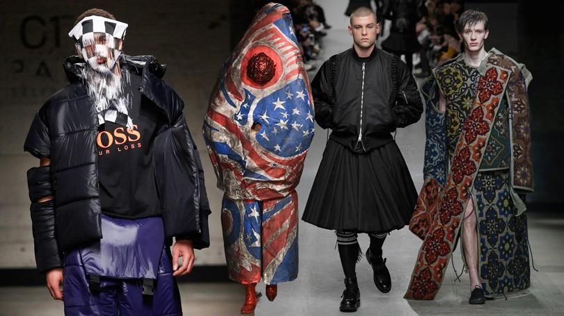 e5c3d5114775 Men in Style  самые эпатажные образы Недели мужской моды в Лондоне ...