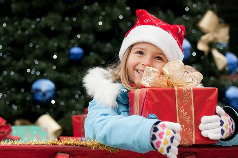 Новогодний подарок ребёнку