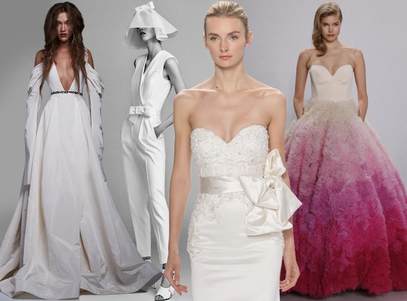 ae5ac34d023 Wedding   More  6 актуальных трендов с Недели свадебной моды в Нью ...