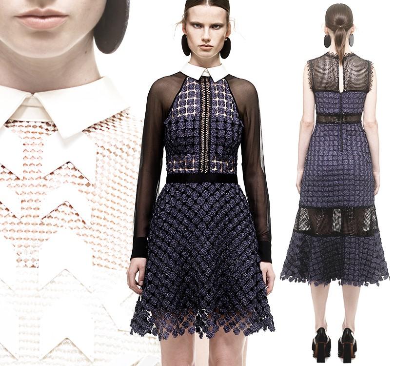 b29bc5cbb24 Style Notes  экспрессивные платья Self-Portrait в Podium Concept ...