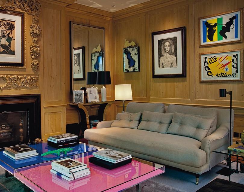 f931668318c4 Дизайн & Декор: предметы интерьера из дома Стинга в Лондоне ...