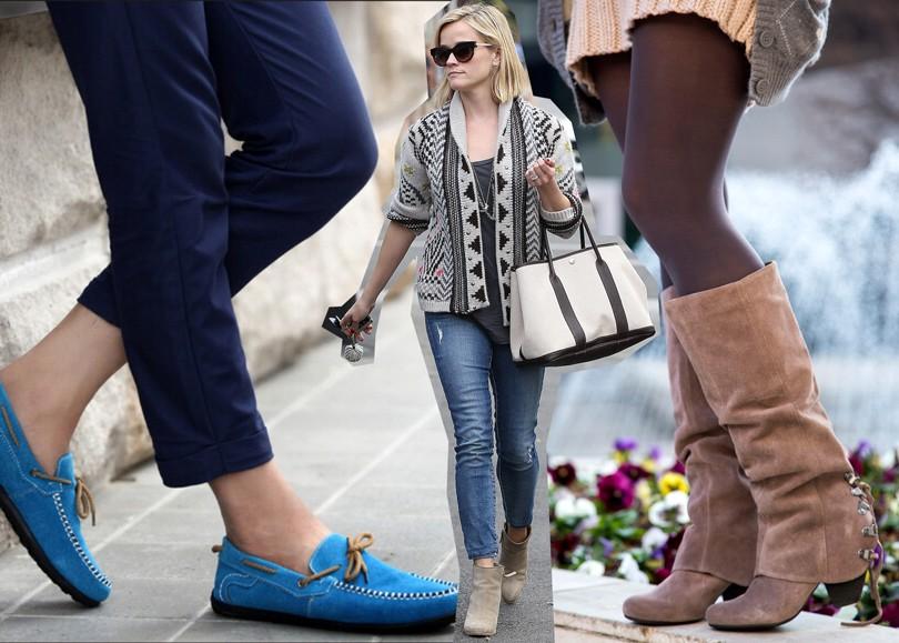Shoes   Bags Blog  замшевая обувь в осеннем сезоне   Posta-Magazine ... 5749d898ac3