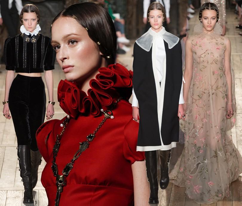 Style Notes  показ Valentino на Неделе высокой моды в Париже   Posta ... 60cd0471168