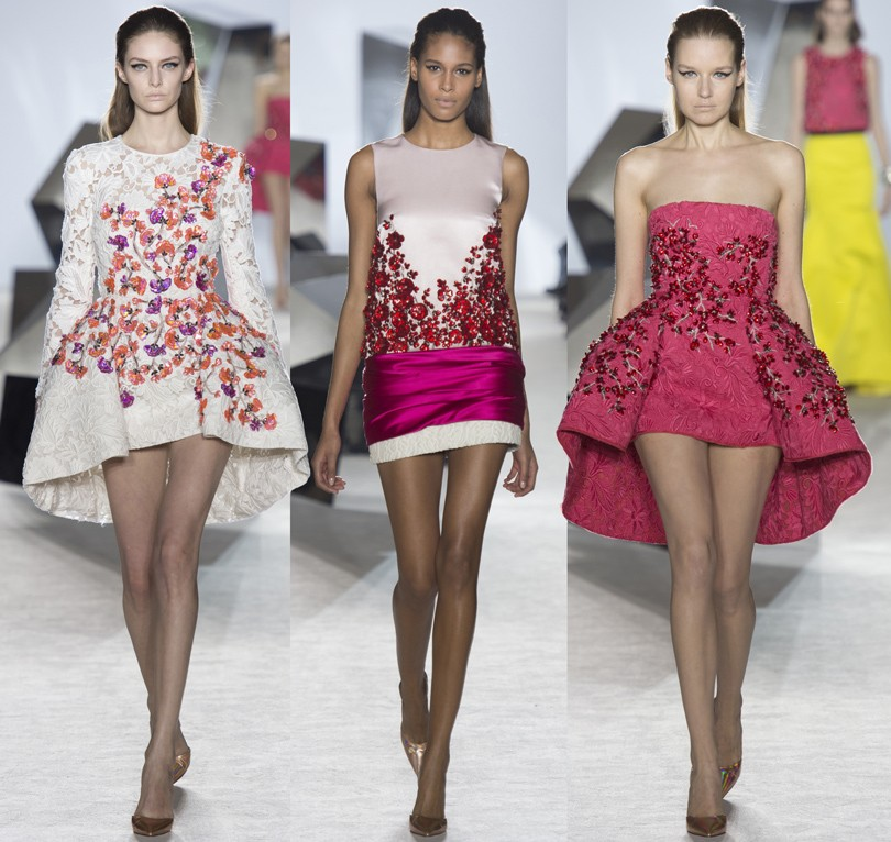 Style Notes: Giambattista Valli Haute Couture в «Весне»