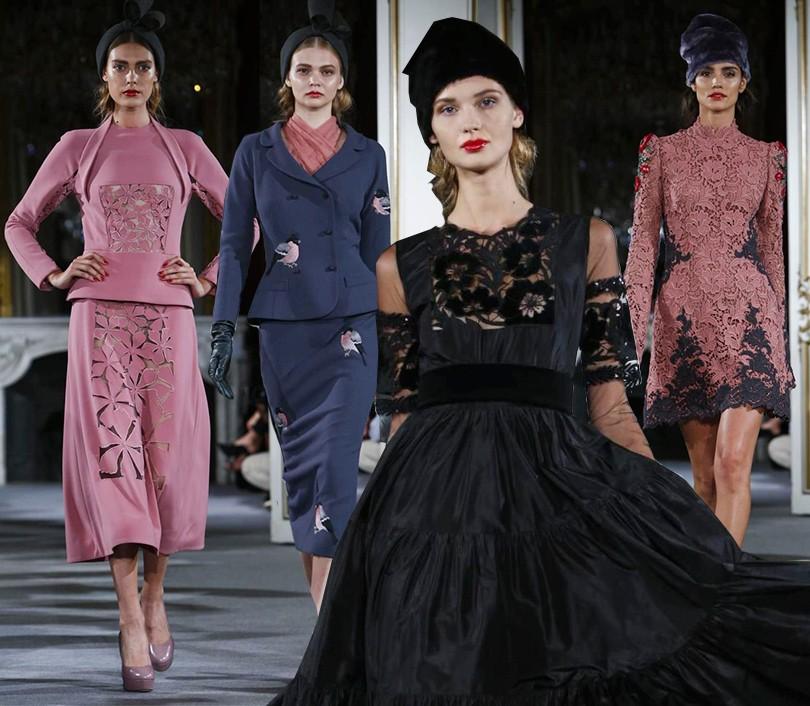 Style Notes  российский модный Дом Yanina на Неделе haute couture в ... 552de66b226