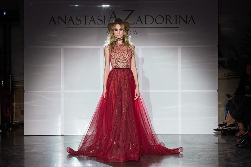 Style Notes  Анастасия Задорина представила коллекцию осень-зима ... 431400e5b42