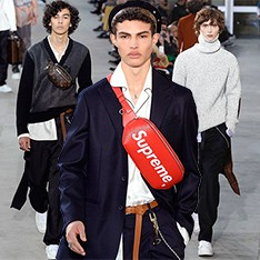 Men in Style: Louis Vuitton и Supreme — главная коллаборация года
