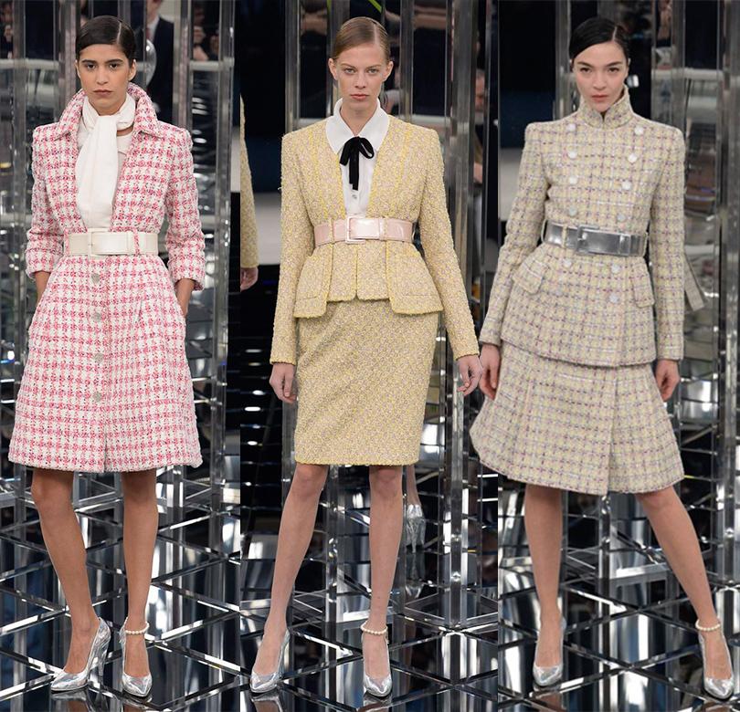 a27fc4bae42 Style Notes  нежность и блеск — показ Chanel на Неделе высокой моды ...