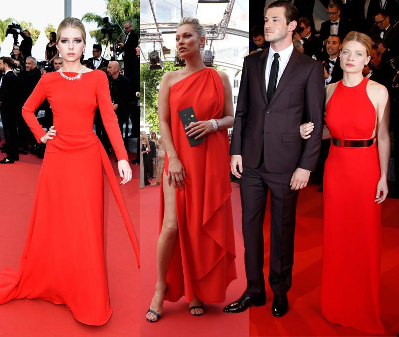Платья С Красной Ковровой Дорожки 2017