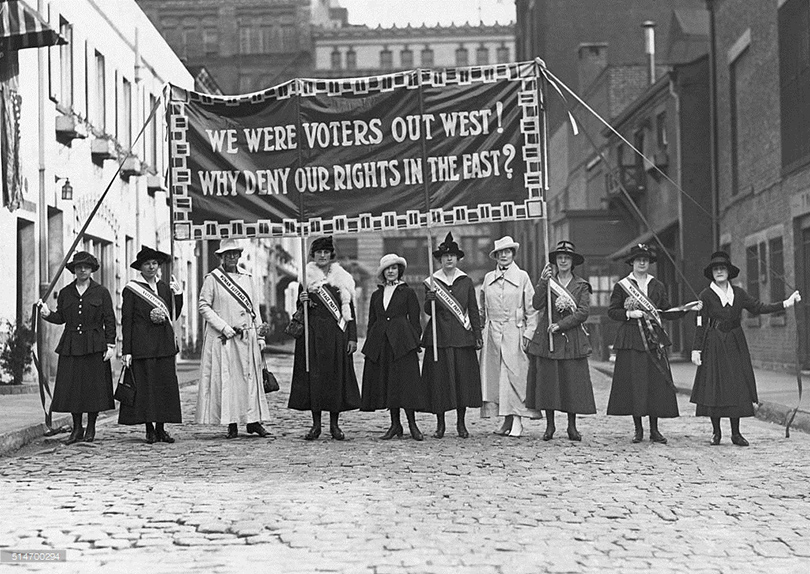 a history of the womens rights movement in the mid xix century in the united states Historians describe two waves of feminism in history: the first in the 19 th century woman in the united states to and the civil rights movement.