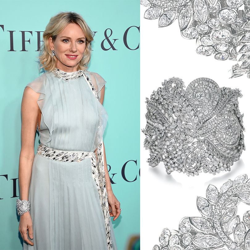 Гала-вечер Tiffany Blue Book Gala. Наоми Уоттс
