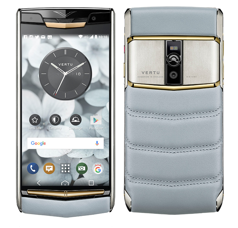 НовЫй смартфон Vertu Signature Touch Sky Blue