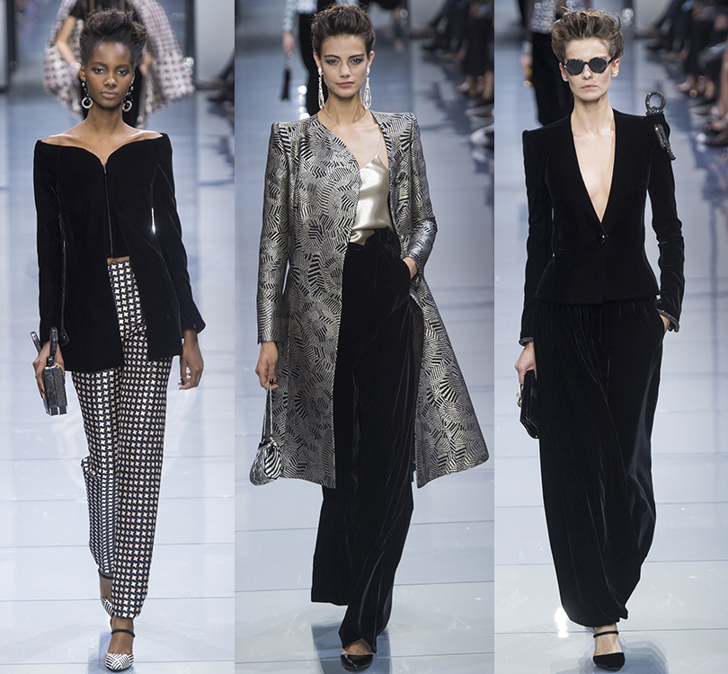 Style Notes: показ Armani Privé в рамках Paris Haute Couture Week
