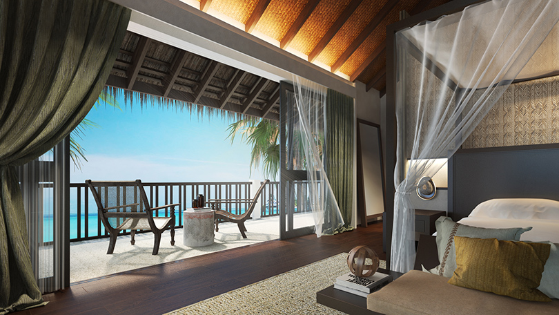 Travel News: частный остров Four Seasons Private Island Maldives at Voavah на атолле Баа
