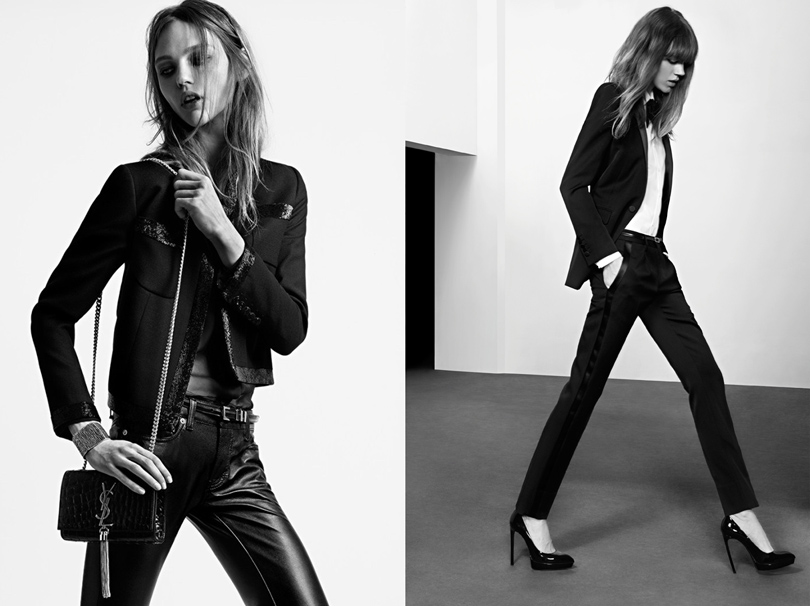 Эди Слиман для Saint Laurent