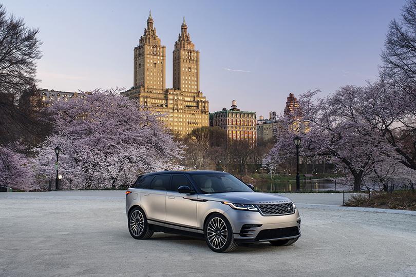 Старт продаж кроссовера Range Rover Velar