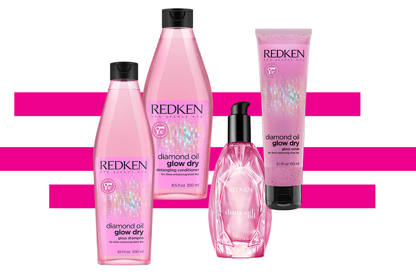 Гамма Diamond Oil Glow Dry от Redken